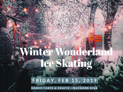 Winter Wonderland Ice Skating at CSU campus on February 15, 2019
